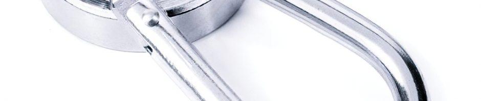 magnetické karabiny a háky