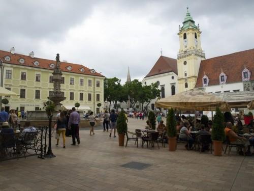Centrum Bratislavy, zdroj: redakce