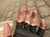 rukavice na kolo