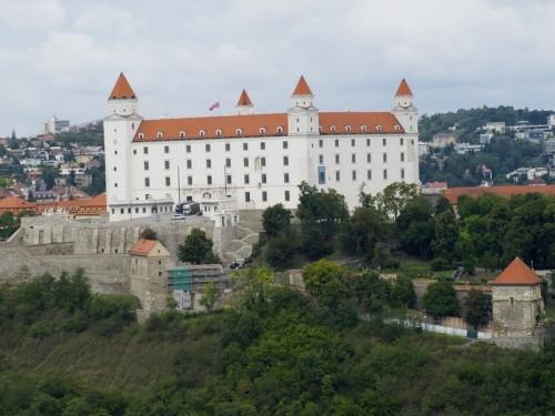 Bratislavský hrad, zdroj: redakce