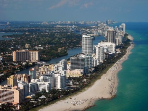 Pohled na celou Miami Beach, zdroj: shuttestock.com