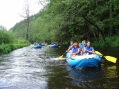 Rafting s přáteli, zdroj: putzer.cz