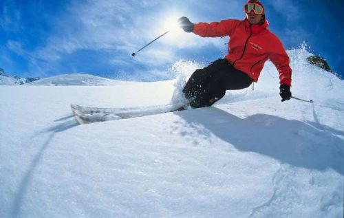 lyžování mimo vyznačené trasy