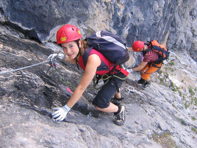 Náročnější via ferraty bez horolezeckého vybavení nezvládnete e654f160ac